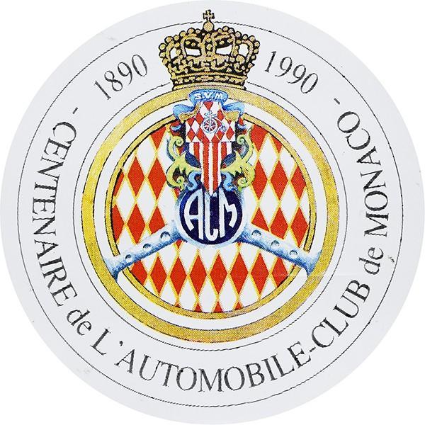 AUTOMOBILE CLUB DE MONACO 100周年記念ステッカー itazatsu