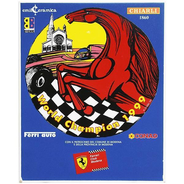 フェラーリ Ferrari Club Modena World Champion 1999 セラミックオブジェ|itazatsu