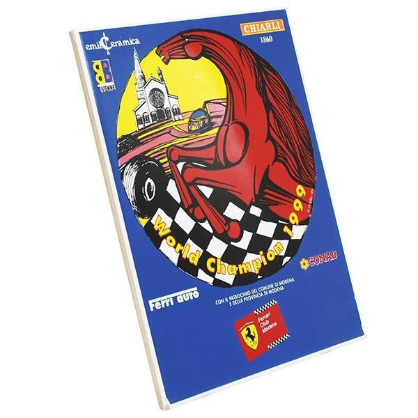 フェラーリ Ferrari Club Modena World Champion 1999 セラミックオブジェ|itazatsu|02