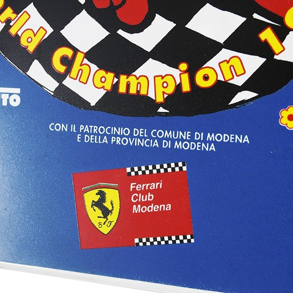フェラーリ Ferrari Club Modena World Champion 1999 セラミックオブジェ|itazatsu|06