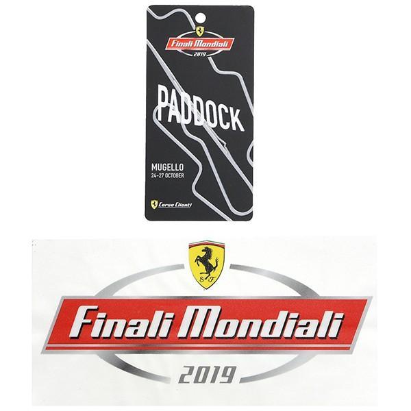 フェラーリ Ferrari Finali Mondiali 2019 ステッカー&パドックパスセット itazatsu 02