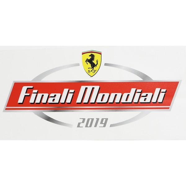 フェラーリ Ferrari Finali Mondiali 2019 ステッカー&パドックパスセット itazatsu 05