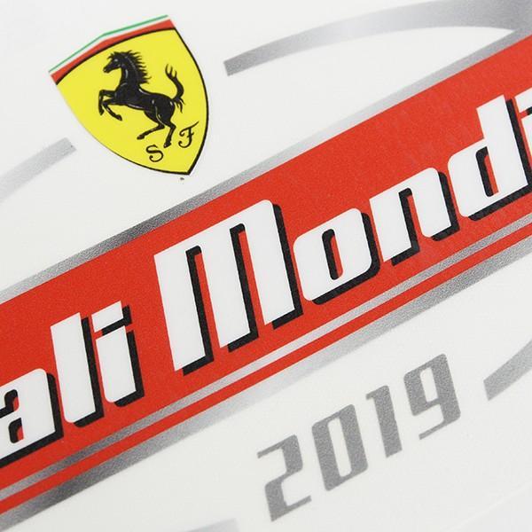 フェラーリ Ferrari Finali Mondiali 2019 ステッカー&パドックパスセット itazatsu 09