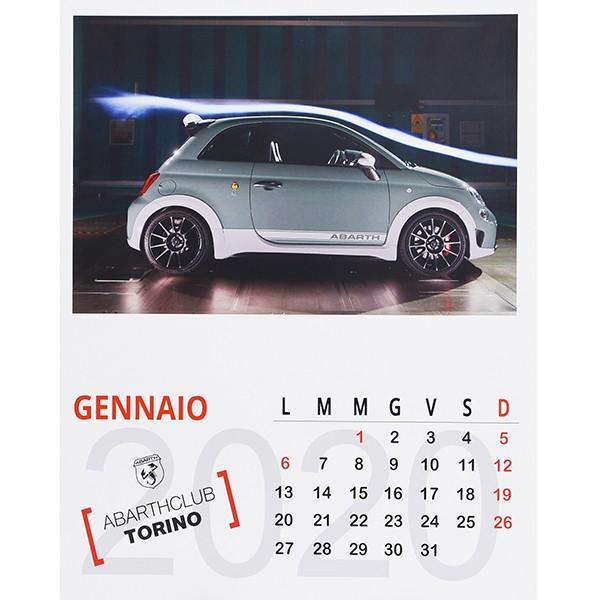 アバルト ABARTH CLUB TORINO カレンダー2020|itazatsu