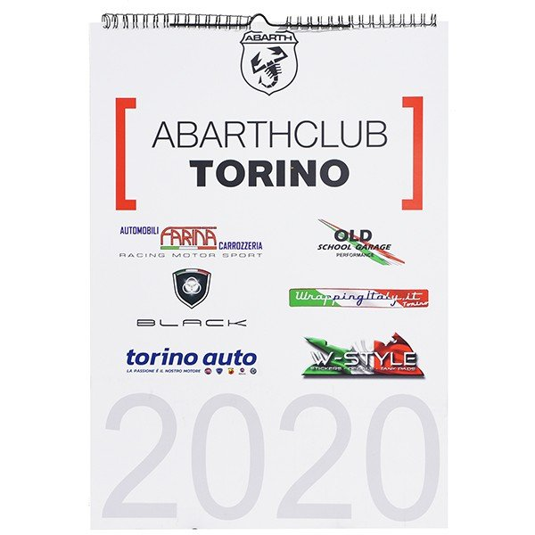 アバルト ABARTH CLUB TORINO カレンダー2020|itazatsu|03
