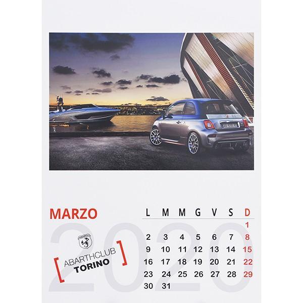 アバルト ABARTH CLUB TORINO カレンダー2020|itazatsu|04