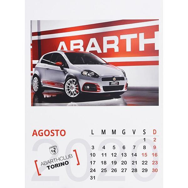 アバルト ABARTH CLUB TORINO カレンダー2020|itazatsu|07