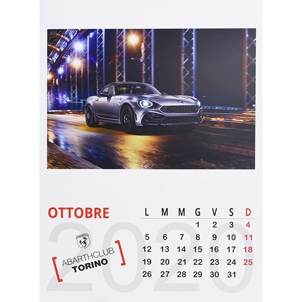 アバルト ABARTH CLUB TORINO カレンダー2020|itazatsu|08