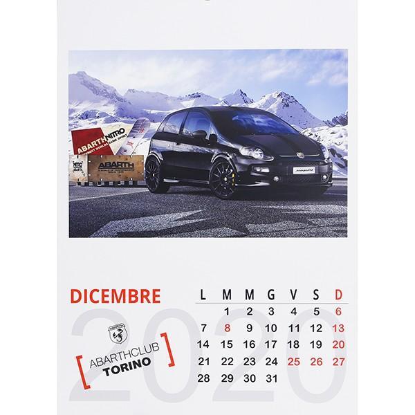 アバルト ABARTH CLUB TORINO カレンダー2020|itazatsu|09