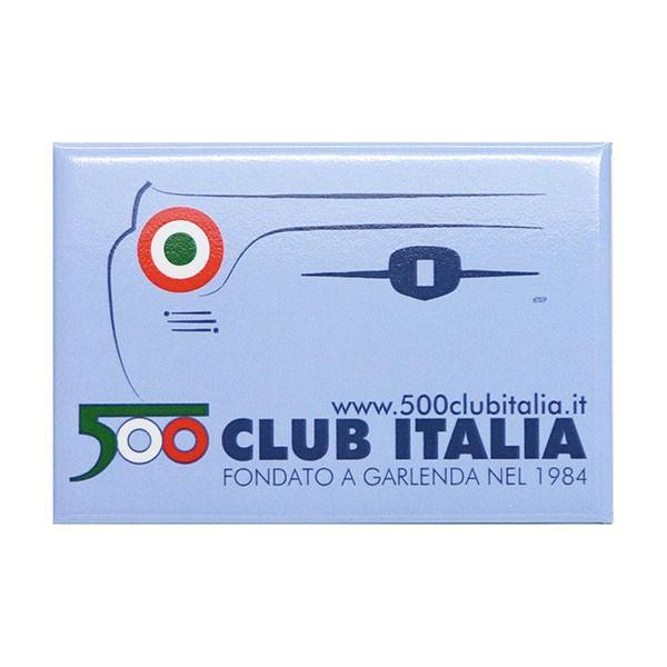フィアット FIAT 500 CLUB ITALIAマグネット|itazatsu