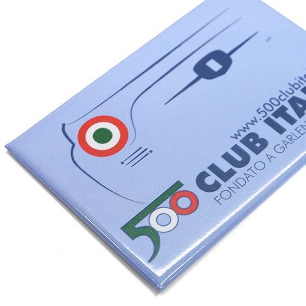 フィアット FIAT 500 CLUB ITALIAマグネット|itazatsu|03