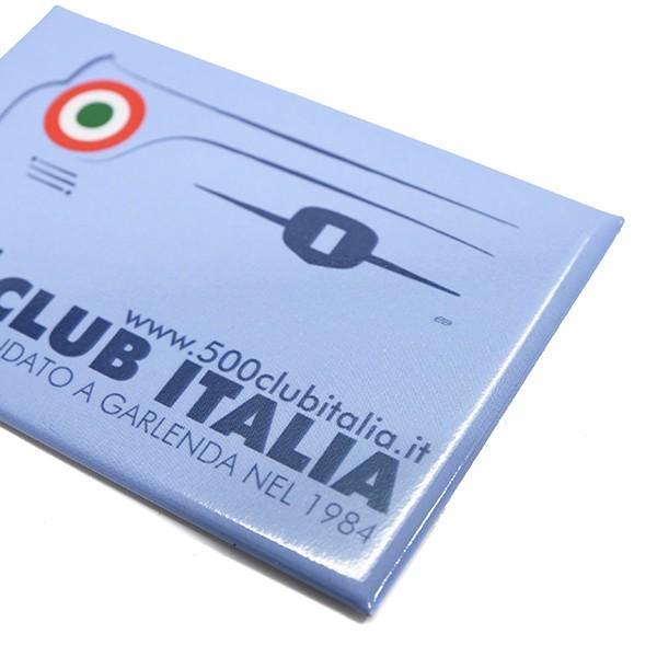 フィアット FIAT 500 CLUB ITALIAマグネット|itazatsu|04