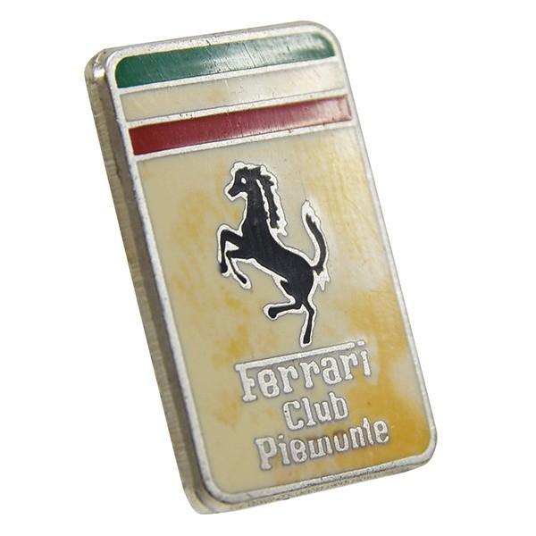 フェラーリ Ferrari Club Piemonteエンブレムプレート|itazatsu|02