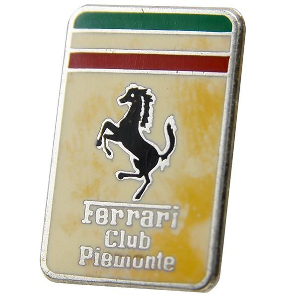 フェラーリ Ferrari Club Piemonteエンブレムプレート|itazatsu|03