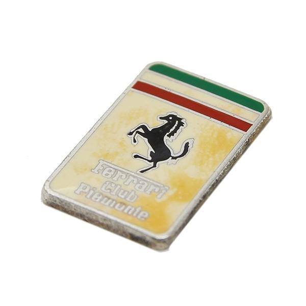 フェラーリ Ferrari Club Piemonteエンブレムプレート|itazatsu|04