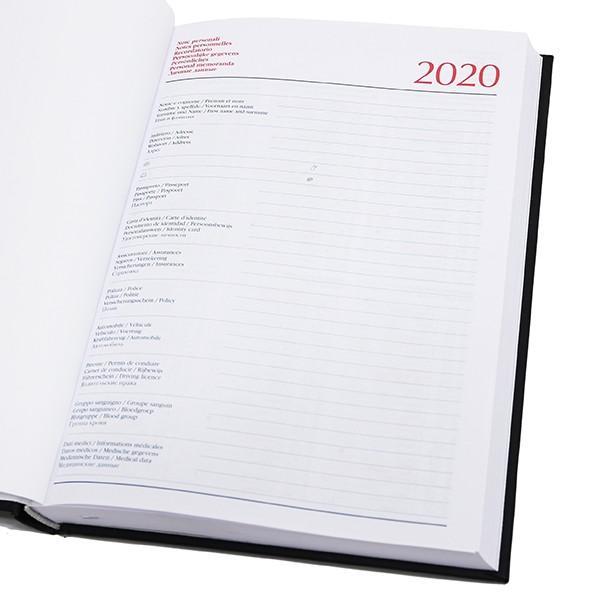 アバルト ABARTH CLUB TORINO オフィシャル手帳(2020/ブラック)|itazatsu|06