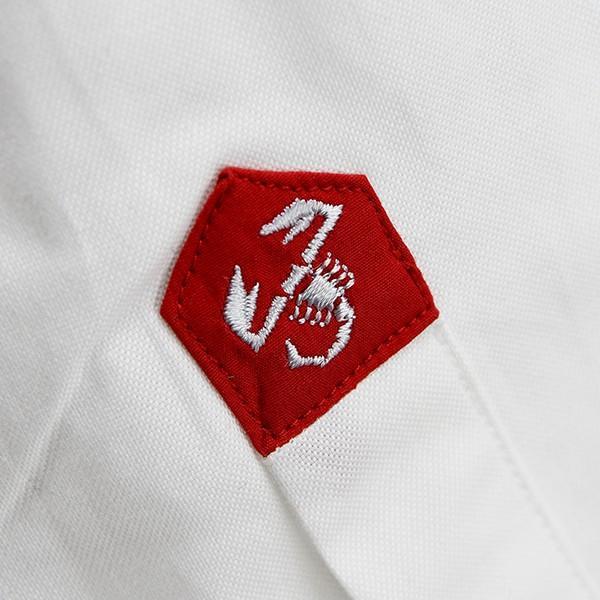 アバルト純正 695 Bipostoボタンダウンシャツ|itazatsu|07