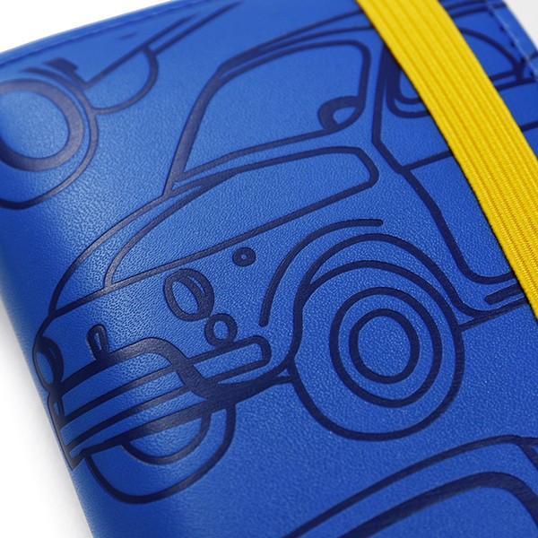 フィアット純正 Nuova 500 グラフィックキーケース(ブルー)|itazatsu|04