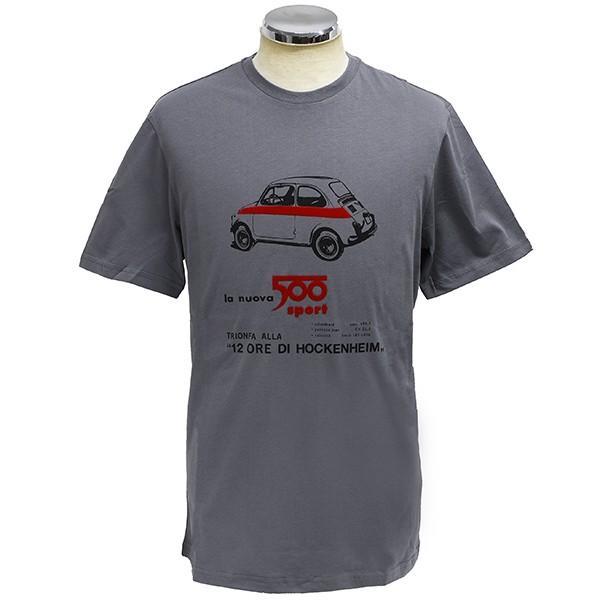 フィアット純正 Nuova 500 Tシャツ(グレー)|itazatsu