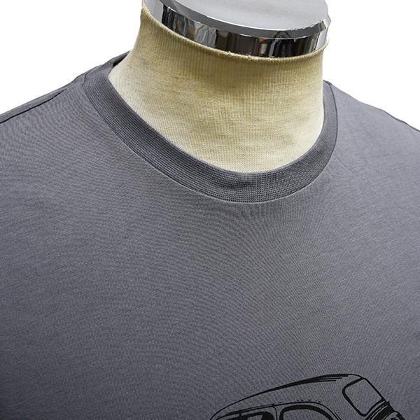 フィアット純正 Nuova 500 Tシャツ(グレー)|itazatsu|08