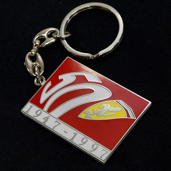 フェラーリ 50周年記念メタルキーリング itazatsu