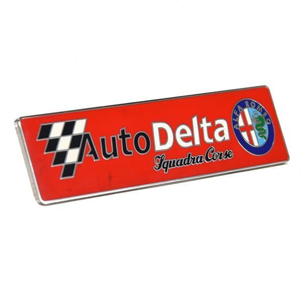 Alfa Romeo Auto Delta Squadra Corse メタルエンブレム|itazatsu|02