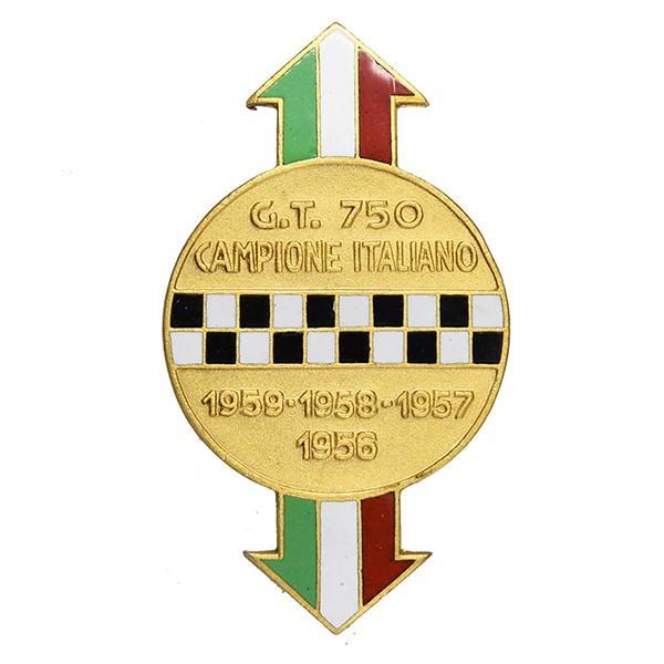 アバルト 750 CAMPIONE ITALIANO七宝エンブレム|itazatsu