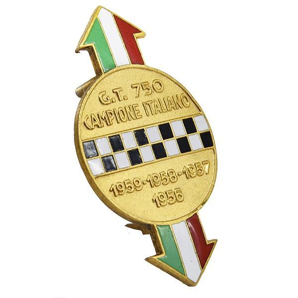 アバルト 750 CAMPIONE ITALIANO七宝エンブレム|itazatsu|02
