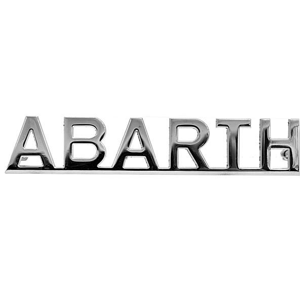 アバルト ロゴエンブレム|itazatsu