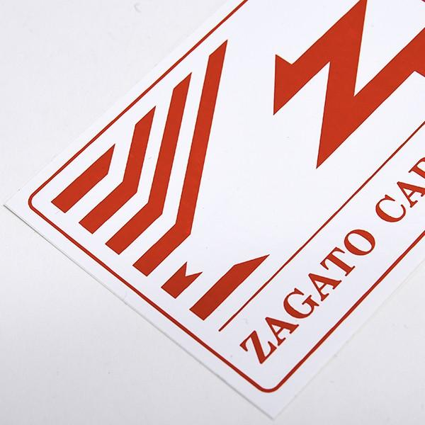 ZAGATO CAR CLUB ITALIAステッカー|itazatsu|03