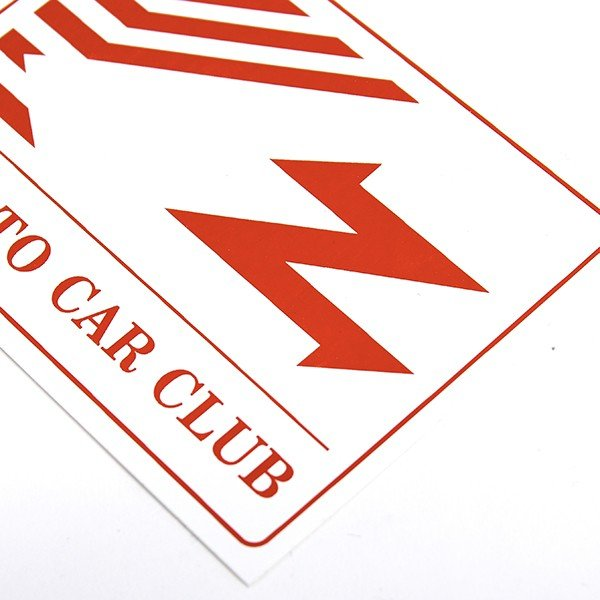 ZAGATO CAR CLUB ITALIAステッカー|itazatsu|04