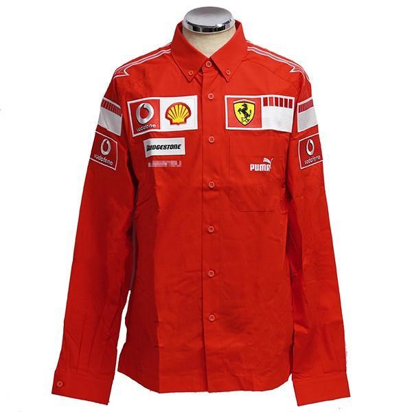 スクーデリア フェラーリ 2006ティームスタッフ用B.D.シャツ(長袖)|itazatsu