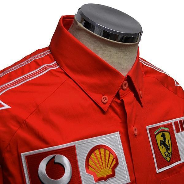 スクーデリア フェラーリ 2006ティームスタッフ用B.D.シャツ(長袖)|itazatsu|04