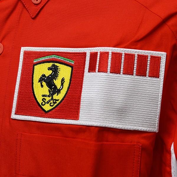 スクーデリア フェラーリ 2006ティームスタッフ用B.D.シャツ(長袖)|itazatsu|05