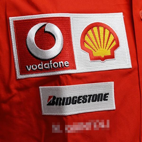 スクーデリア フェラーリ 2006ティームスタッフ用B.D.シャツ(長袖)|itazatsu|06