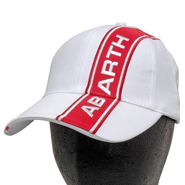 アバルト純正ABARTHベースボールキャップ (ホワイト)|itazatsu