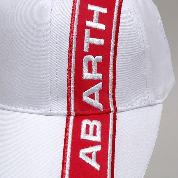 アバルト純正ABARTHベースボールキャップ (ホワイト)|itazatsu|04