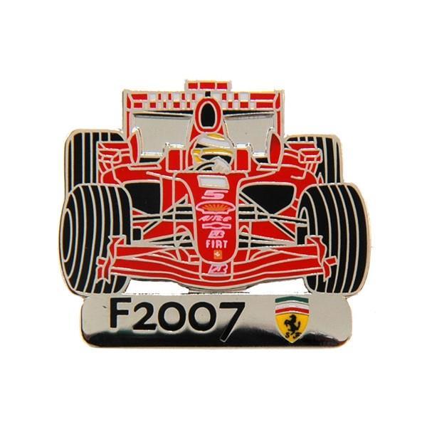 フェラーリ純正F2007チャンピオン獲得記念ピンバッジ  by BOLAFFI itazatsu