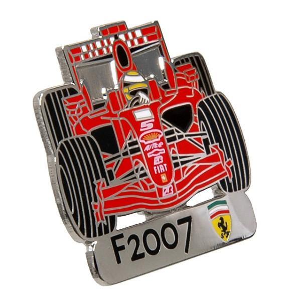 フェラーリ純正F2007チャンピオン獲得記念ピンバッジ  by BOLAFFI itazatsu 02