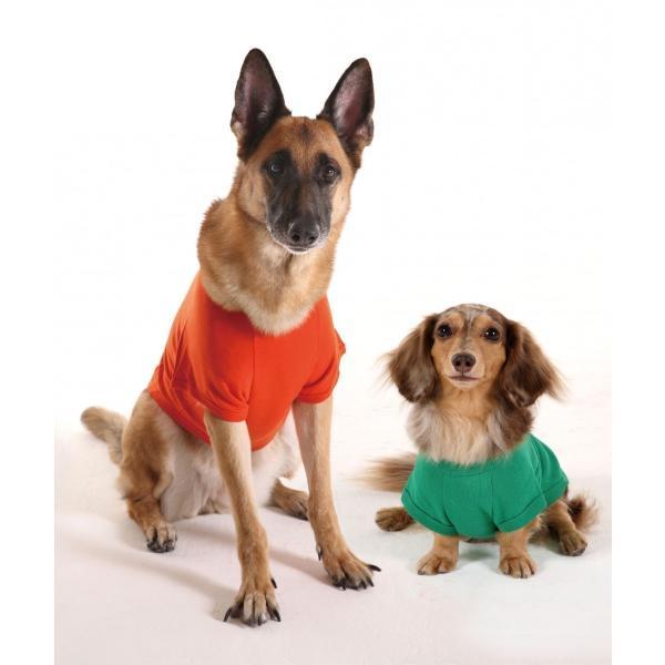 hotdogプレーン(無地)Tシャツ 5L 6L 7L サイズ 【犬用 ワンちゃんの大人気の無地Tシャツ 大型犬 大きいサイズ】|itempetshop|04