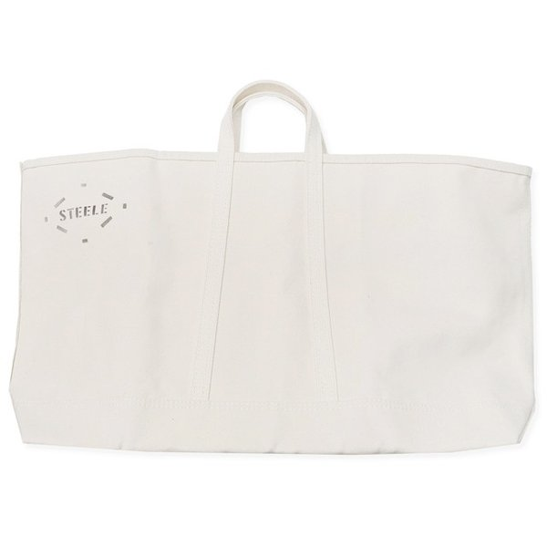 STEELE CANVAS BASKET CORP スチールキャンバスバスケット WIDE NATURAL CANVAS TOTE 183 itempost 02