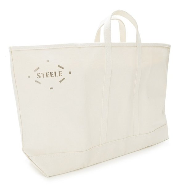 STEELE CANVAS BASKET CORP スチールキャンバスバスケット WIDE NATURAL CANVAS TOTE 183 itempost 05