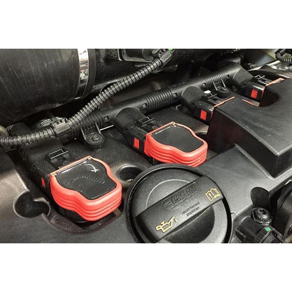 Audi純正 S4 レッド・イグニッションコイル 1pc|itempost|05