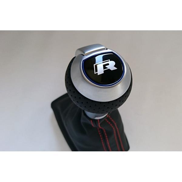 New Rロゴ/ブルートリム DSGシフトノブ(Audi純正 RS4シフトノブ)|itempost|05