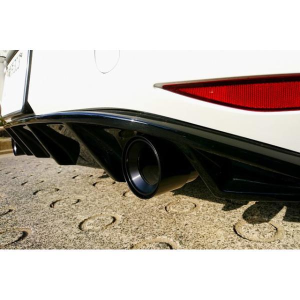 GOLF7/GOLF6 GTI用 アルミビレット マフラーカッター・ブラック (BMS製)|itempost|05