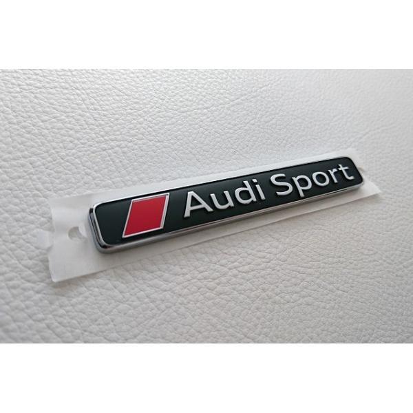 Audi純正 Audi Sport エンブレム|itempost|02