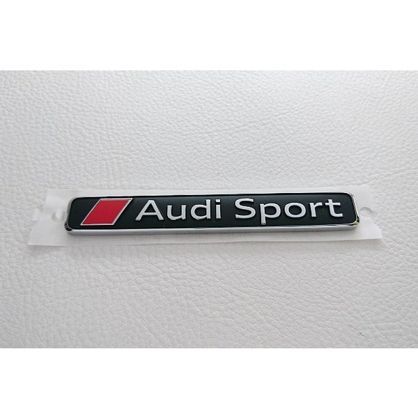 Audi純正 Audi Sport エンブレム itempost 03