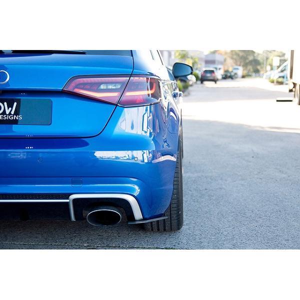 FLOW DESIGNS Audi RS3SB(8V) リアスパッツ|itempost