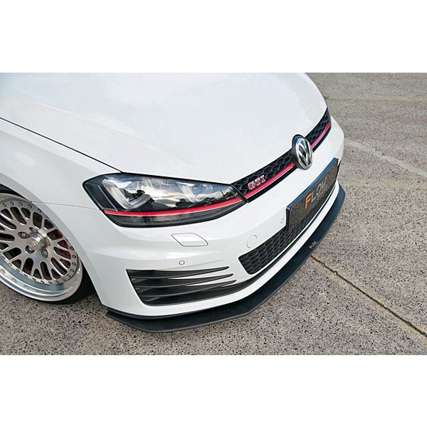 FLOW DESIGNS GOLF7 GTI フロントスプリッター|itempost