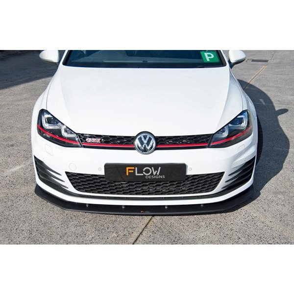 FLOW DESIGNS GOLF7 GTI フロントスプリッター|itempost|06